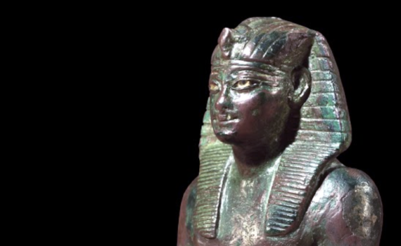 Bronze statuette of Thutmose IV