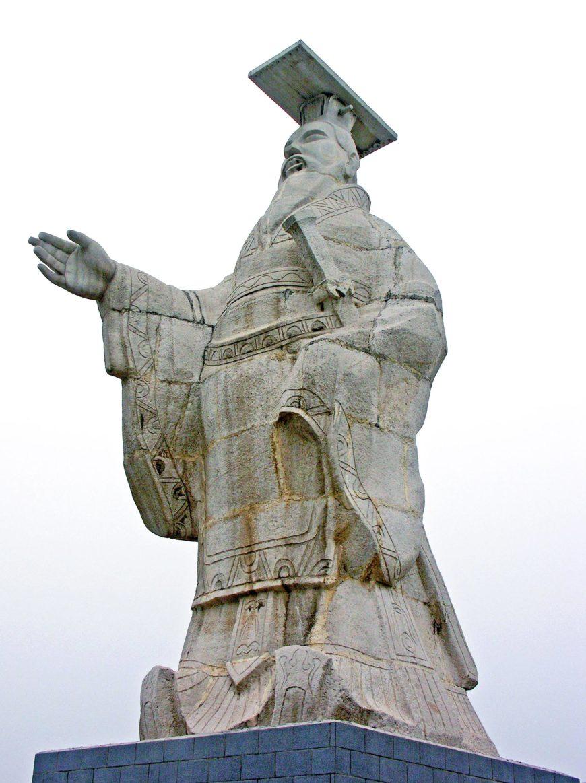 Qin Shi Huang (photo: Dennis Jarvis, CC BY-SA 2.0)