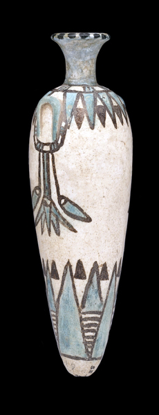Perfume jar, 18th dynasty, found in a cemetery in Sesebi, southern Nubia (Sudan), 13 cm (© Trustees of the British Museum)