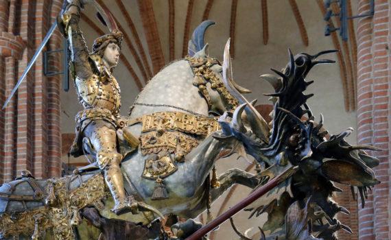 <em>St. George and the Dragon</em>, Storkyrkan Stockholm