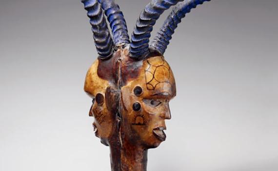 Janus-Faced Headdress (Ejagham or Bale peoples)