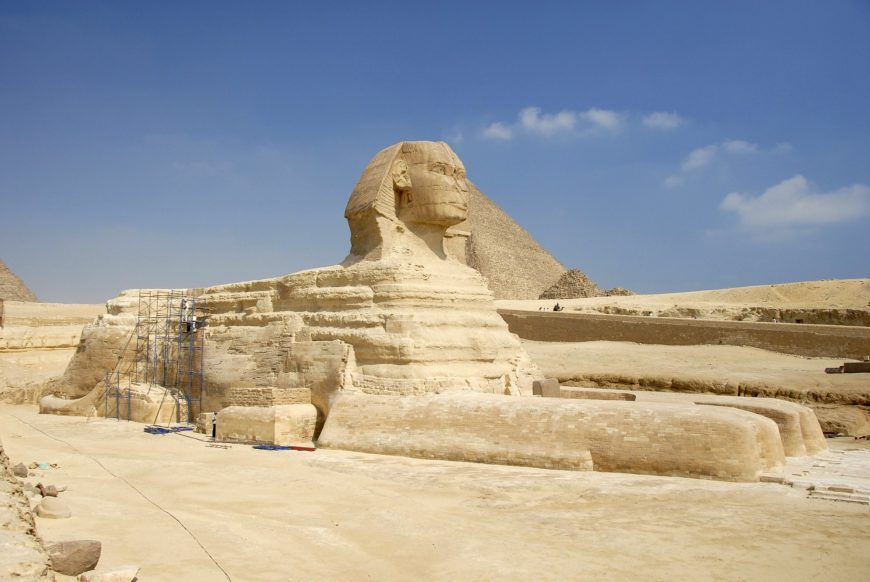 The Great Sphinx (photo: superblinkymac, CC BY-NC-ND 2.0)
