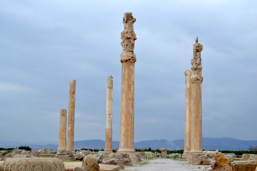 Apādana, Persepolis (Fars, Iran), c. 520–465 B.C.E. (photo: Alan Cordova, CC BY-NC-ND 2.0)